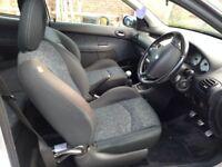 Peugeot 206, 1360 cc, petrol,2003, low mileage