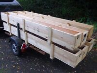 Large Wooden Crates