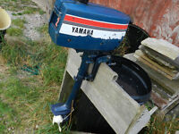 Yamaha 2hp lightweight Boat 2 stroke Outboard Engine for dinghy or RIB tender inflatable