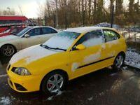 Seat Ibiza - yellow - 2007
