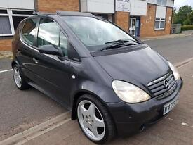 """MERCEDES BENZ A190 ELEGANCE AUTOMATIC. FULL HEATED LEATHER. LARGE SUNROOF. 17"""" MERCEDES AMG ALLOYS."""