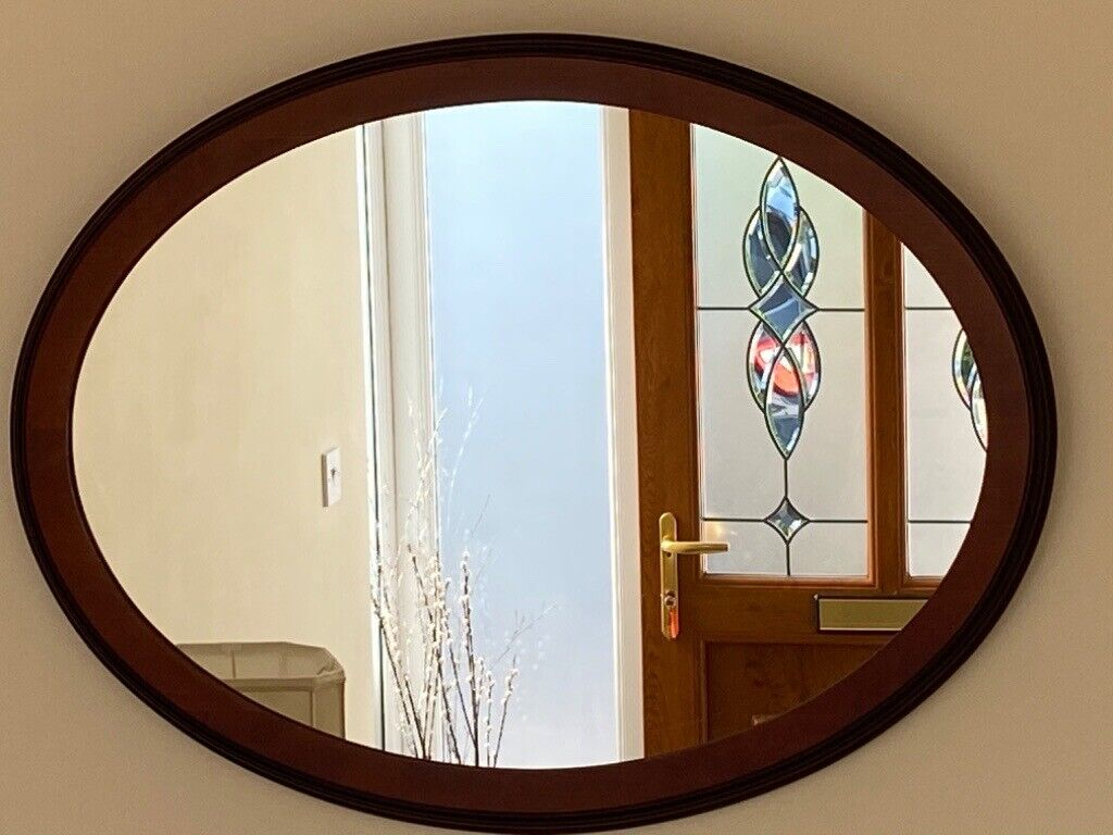 Cherry Wood Framed Mirror | in Sudbury, Suffolk | Gumtree