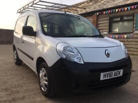 """Renault kangoo 2011/61"""" 1.5 dci turbo diesel van - new mot - px available"""