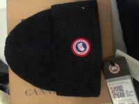 Authentic Canada goose hat and scarf