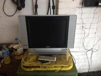 Philips flat screen TV 15 inch