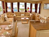😀😀Stunning DG & CH static caravan for sale on northumberland coast open 12 months low fees😀😀