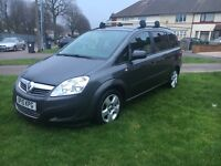 Vauxhall zafira exclusive tdi diesel 7 seater hpi clear
