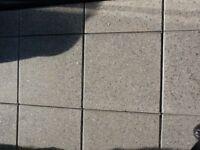 Composite paving stones grey