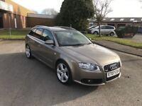 2007 Audi A4 2.0 s-line estate 12 months mot/3 months parts and labour warranty
