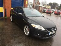 2008 Ford mondeo 2.2 tdci titanium x sport 12 months mot/3 months parts and labour warranty
