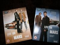 Life On Mars DVDs The Complete Series One And Two