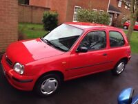 Nissan Micra 1.0 16v Profile 3 door. Serviced every year. Reliable car with MOT. £325
