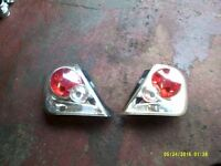 honda civic rear lights and power flow exhaust 01-05 type r