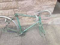 Rare 1948 Raleigh Clubman frame with Reynolds 531 tubing