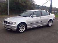 2003 (Apr 03) BMW 2.0 318i SE - Saloon 4 Doors - Petrol - Manual - SILVER *LONG MOT / SERVICED *