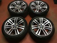 19'' GENUINE BMW X5 M 333 ALLOY WHEELS TYRES ALLOY E70 E71 F15 X6 SPORT