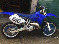 Yz 125 Yamaha motocross bike
