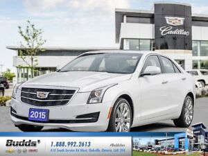 2015 Cadillac ATS 3.6L Luxury 0.9% for up to 24 months O.A.C.!