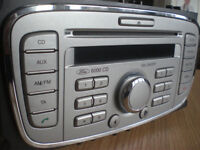 Ford 6000 CD player/radio/phone, Silver Ford Mondeo car stereo headunit with Radio Code
