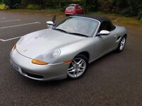 Porsche Boxster 986 2.5 Convertible - FSH, 63k, Red Leather & Carbon Fibre