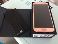Immaculate rose gold Samsung galaxy S7