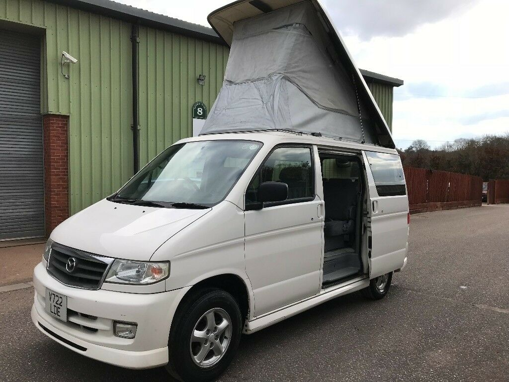 MAZDA BONGO PETROL WITH EXCELLENT SERVICE RECORD, ROOF IN GOOD WORKING  ORDER AND IN GOOD