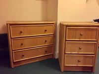 Great Chest of Drawers & Bedside Table Able to Deliver