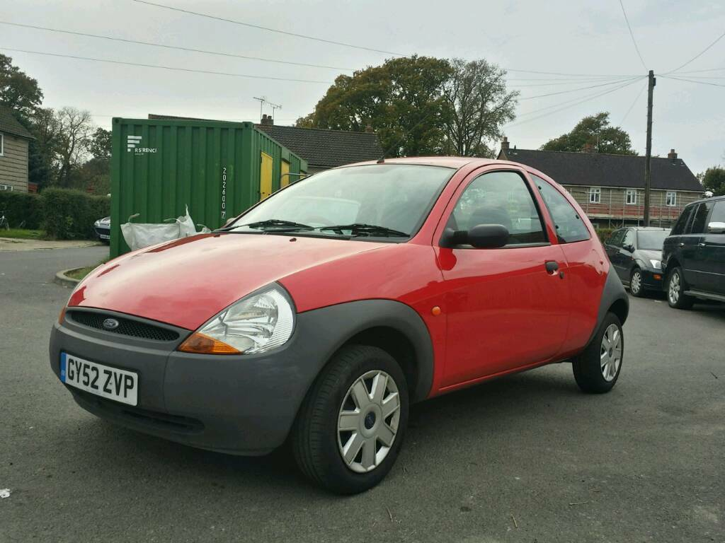 Mint Ford Ka Red Low Miles