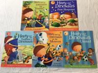Harry and the Dinosaurs x 5 books