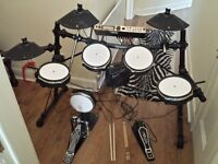 Alesis DM5 Pro Electronic Drumkit with Dixon kick pedal and drumsticks