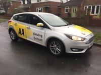 AA driving instructor Reading area