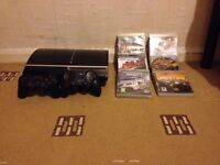 Mint Condition PlayStation 3 With 2 Pads And 6 Games