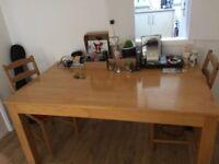 Full Wood Table
