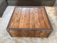 Ethnic Wood Coffee Table