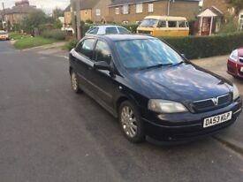 2004 1.6 8v Vauxhall astra