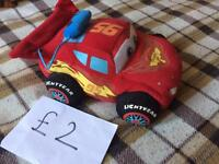 Plush Lightning Mcqueen with sounds