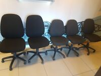 DESK, OFFICE, COMPUTER CHAIRS