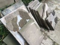 Paving slabs various sizes available