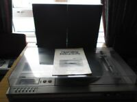 Panasonic Stereo Music Centre SG-4200, with Operating Instructions (for repair or spare parts)