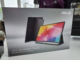 New Asus ZenScreen Touch MB16AMT 15.6in USB Type-C Portable Monitor, Just opened to check