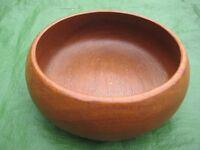 Vintage Wooden Fruit or Salad Bowl