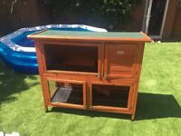 4ft rabbit/guinea pig hutch