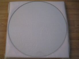 70cm round clear toughened luxury glass table top