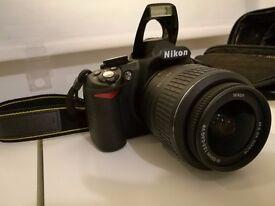Nikon D3100 Digital SLR Camera with 18-55mm VR Lens Kit for sale