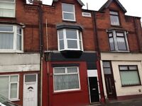 bootle marsh lane one bed ground floor flat furnished £260 p/m no dss