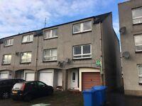 NO DEPOSIT! 4 bedroom townhouse offered to let / for rent Grangemouth, Falkirk
