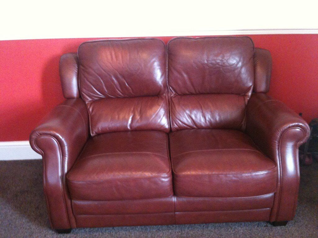 1 three seater leather sofa also 1 two seater leater sofa in very good condition non smokers £150