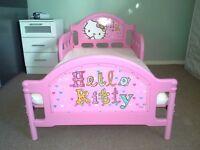 Single Kids Bed Hello Kitty with mattress