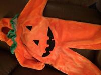 Pumpkin Costume - sz 2/3
