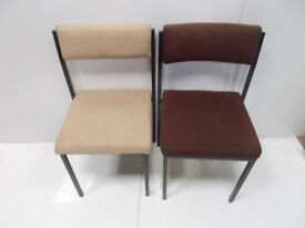 2x Fixed Office Chairs